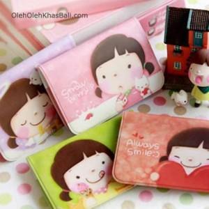 korea girl credit card holder