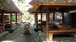 suasana rumah makan mang boo bali