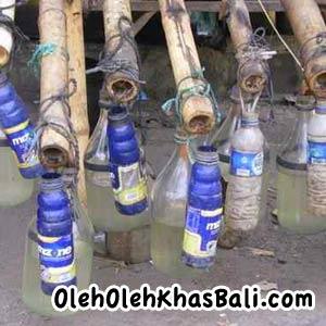 Arak Bali dari tuak