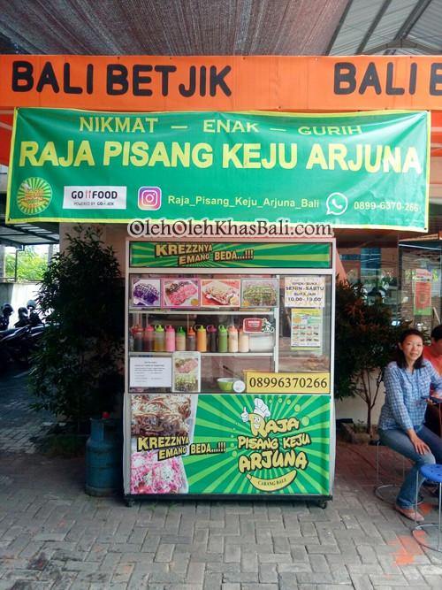 Stan Raja Pisang Keju Arjuna Bali