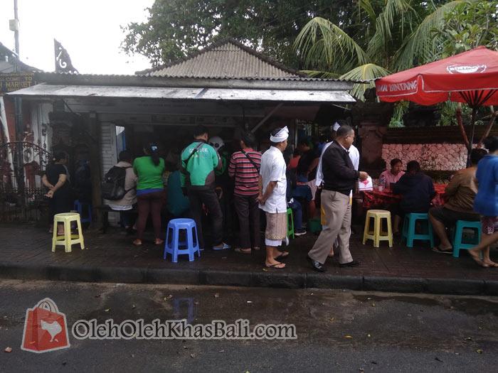 Ramai mulai jam 7.20 pagi waktu Bali