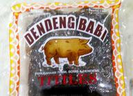 dendeng babi mentah titiles