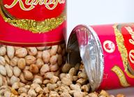 kacang asin rahayu kaleng 150gr tumpah
