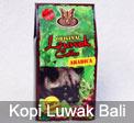 Kopi Bali Luwak Cap Kupu-Kupu Bola Dunia