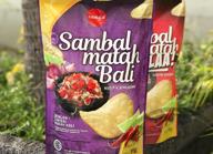 rasa lokal indonesia kripik singkong sambal matah bali gila