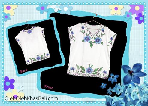 Baju Bordir Motif Bunga 2