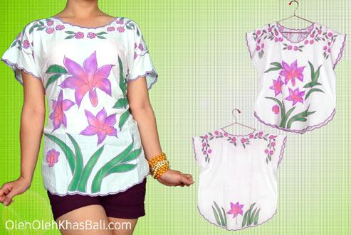 Baju Bordir Bali Leli
