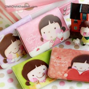 korea girl credit card holder