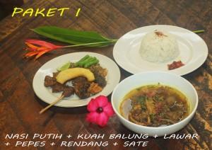 menu makanan di mang boo bali