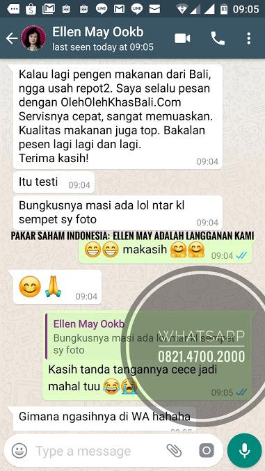 testimoni dari pakar saham indonesia ellen may