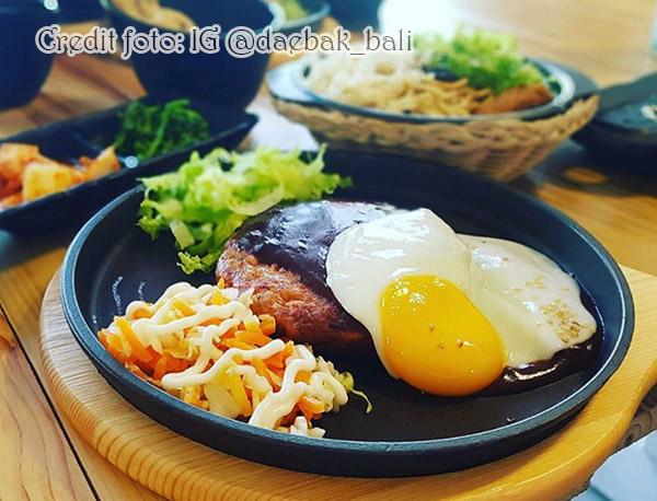 Steak ini adalah salah satu menu best seller di Daebak Bali