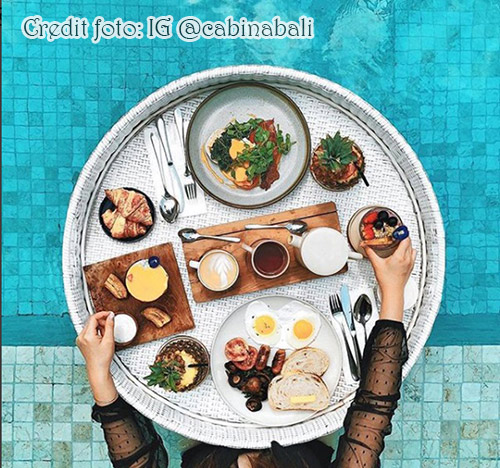 Floating paradise di Cabina Bali