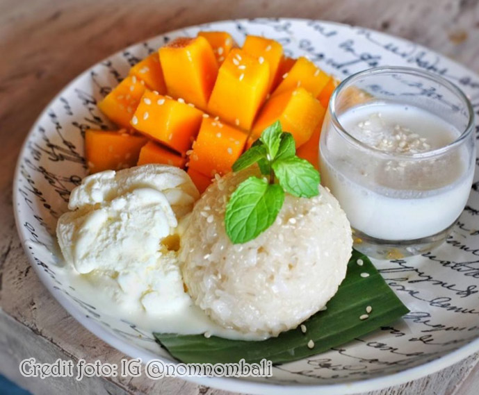 Mango Sticky Rice yang booming itu ini!