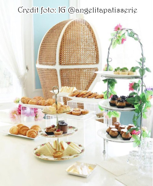 Tea set shabby chic ala Angelita Patisserie