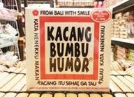 kacang bali bumbu humor
