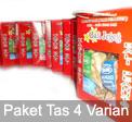 Kacang Tas Paket 4 Varian