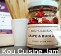 Kou Cuisine Jam and Sea Salt from Ubud Bali