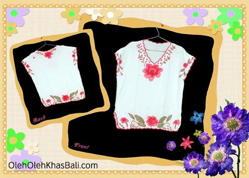 Baju Bordir Motif Bunga 1