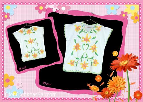 Baju Bordir Bali Multiflower