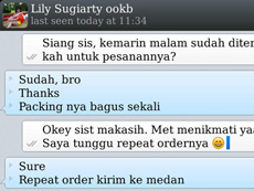 Testi WhatsApp